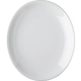 "Platte oval ""Rotondo"" 34 x 29,5 cm Hotelporzellan"