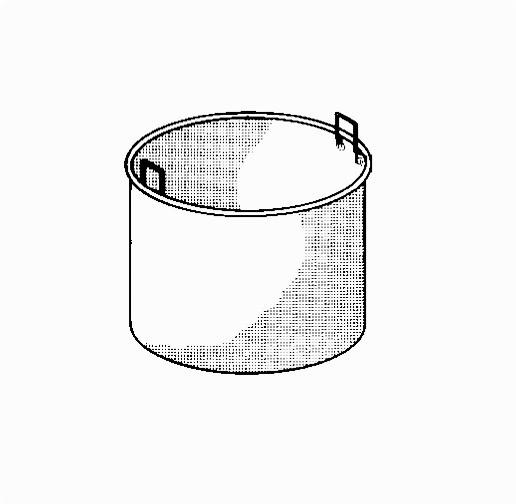 Kochkessel-Einsatz 150 l, 1-teilig