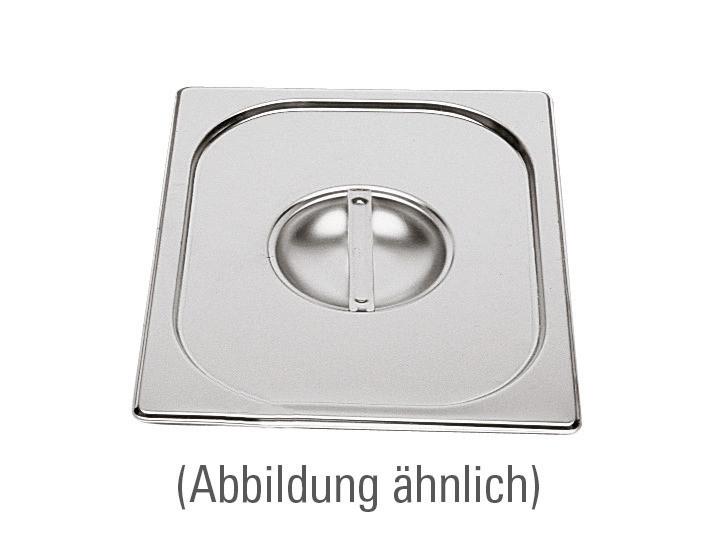 GN-Deckel, GN 1/9, 176 x 108 mm, ohne Löffelausschnitt, Edelstahl