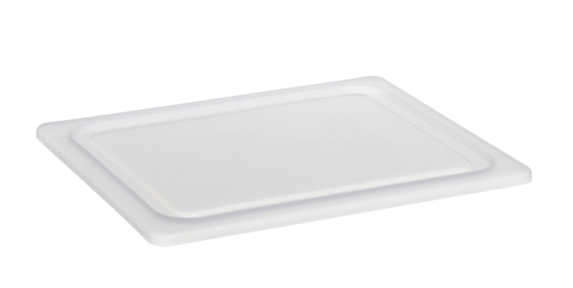 Luftdichter Deckel, GN 1/4, weiß, für Frischhalteboxen + GN-Beh. Polycarbonat