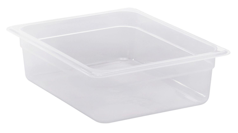 Frischhaltebox, GN 1/2, 325 x 265 x 100 mm, Polypropylen transparent