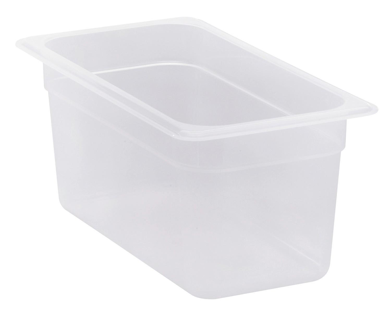 Frischhaltebox, GN 1/3, 325 x 176 x 150 mm, Polypropylen transparent