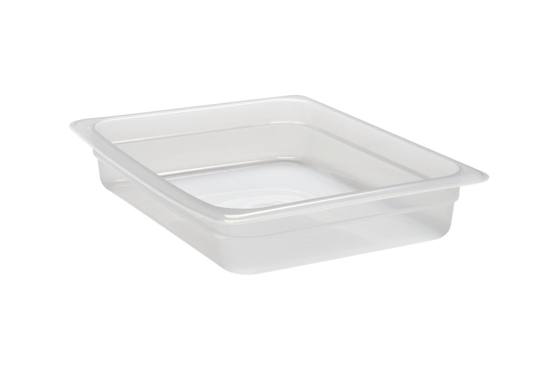 Frischhaltebox, GN 1/2, 325 x 265 x 65 mm, Polypropylen transparent