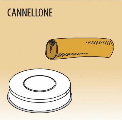 Matrize Cannellone, für Nudelmaschine 516002 bis 516004