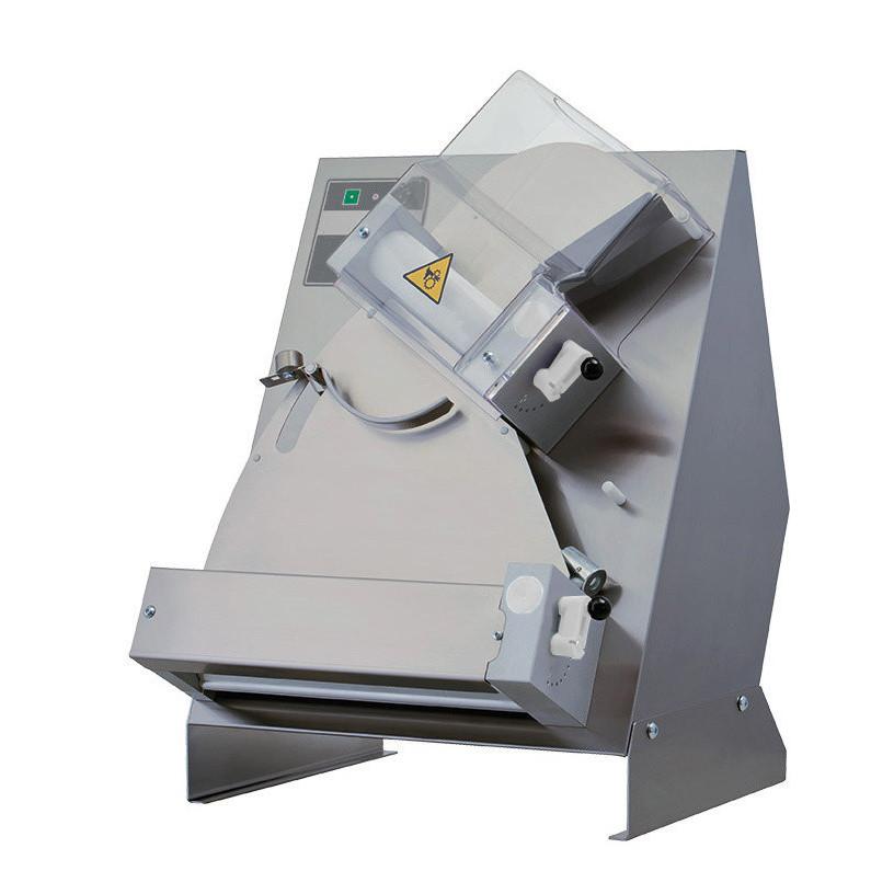 Teig-Ausrollmaschine für runde Pizzen bis ø 300 mm