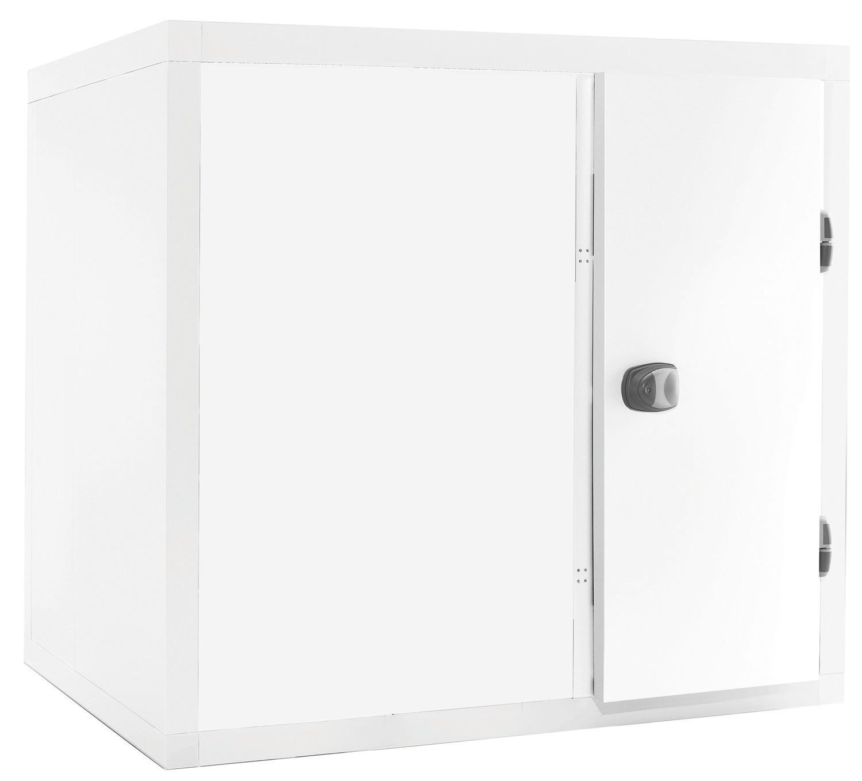 Kühlzelle 4,38m³ 1700 x 1700 x 2110 mm 80 mm Wandisolierung