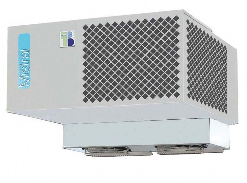 Decken-Tiefkühlaggregat für Kühlzelle 661043, 661050, 661057, 661058