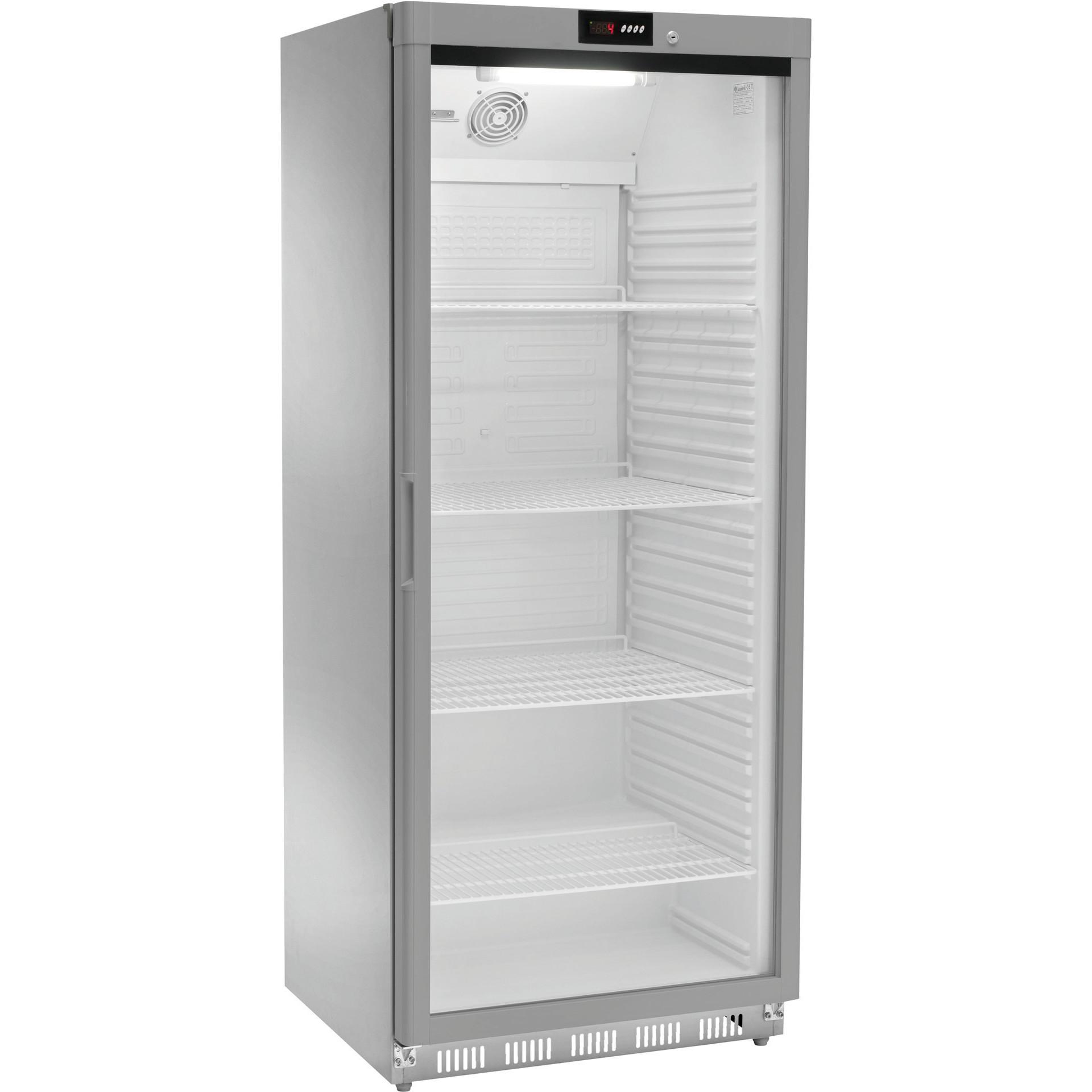 Kühlschrank Edelstahl 580 l 777 x 710 x 1895 mm
