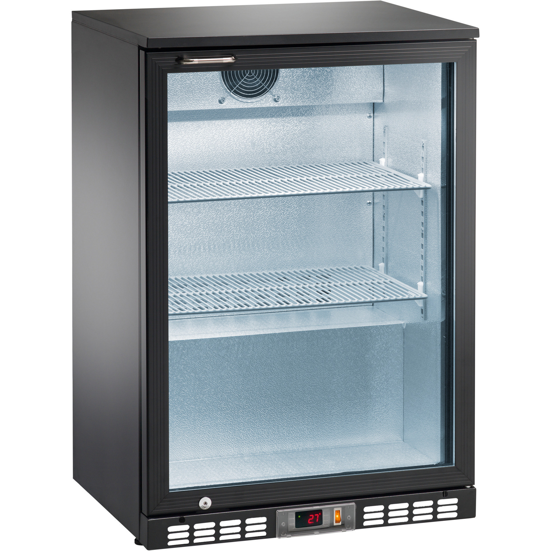 Flaschenkühlschrank 140 l 1 Fügeltür 2 Roste