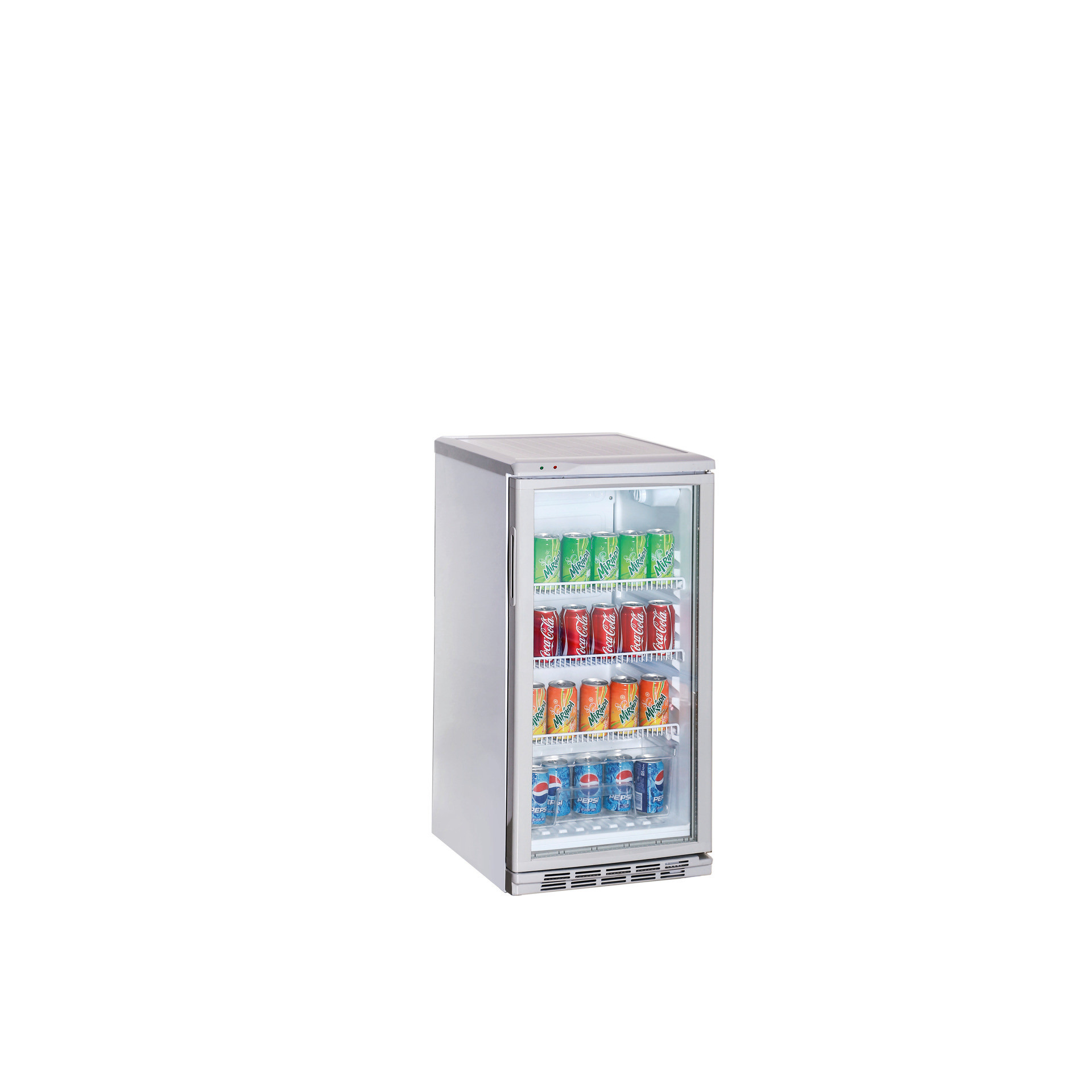 Flaschenkühlschrank weiß 60 l 475 x 517 x 746 mm - Getränke ...