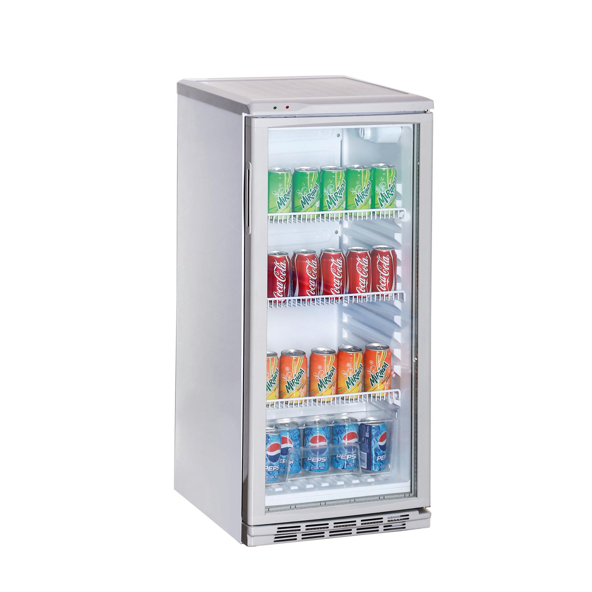 Flaschenkühlschrank weiß 100 l 475 x 517 x 1017 mm