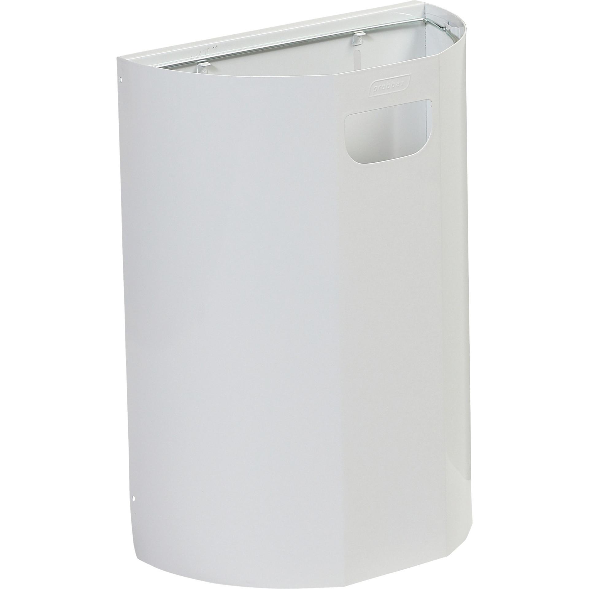 Abfalleimer zur Wandmontage 20 l / weiß