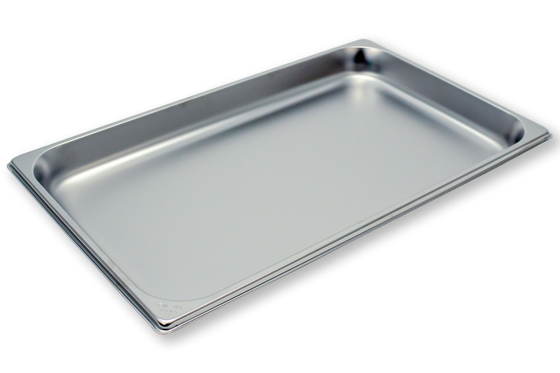 GN-Behälter, GN 1/1, 530 x 325 x 40 mm, Edelstahl