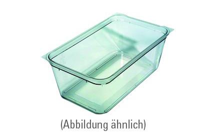 GN-Behälter, GN 1/1, 530 x 325 x 200 mm, Polycarbonat, transparent