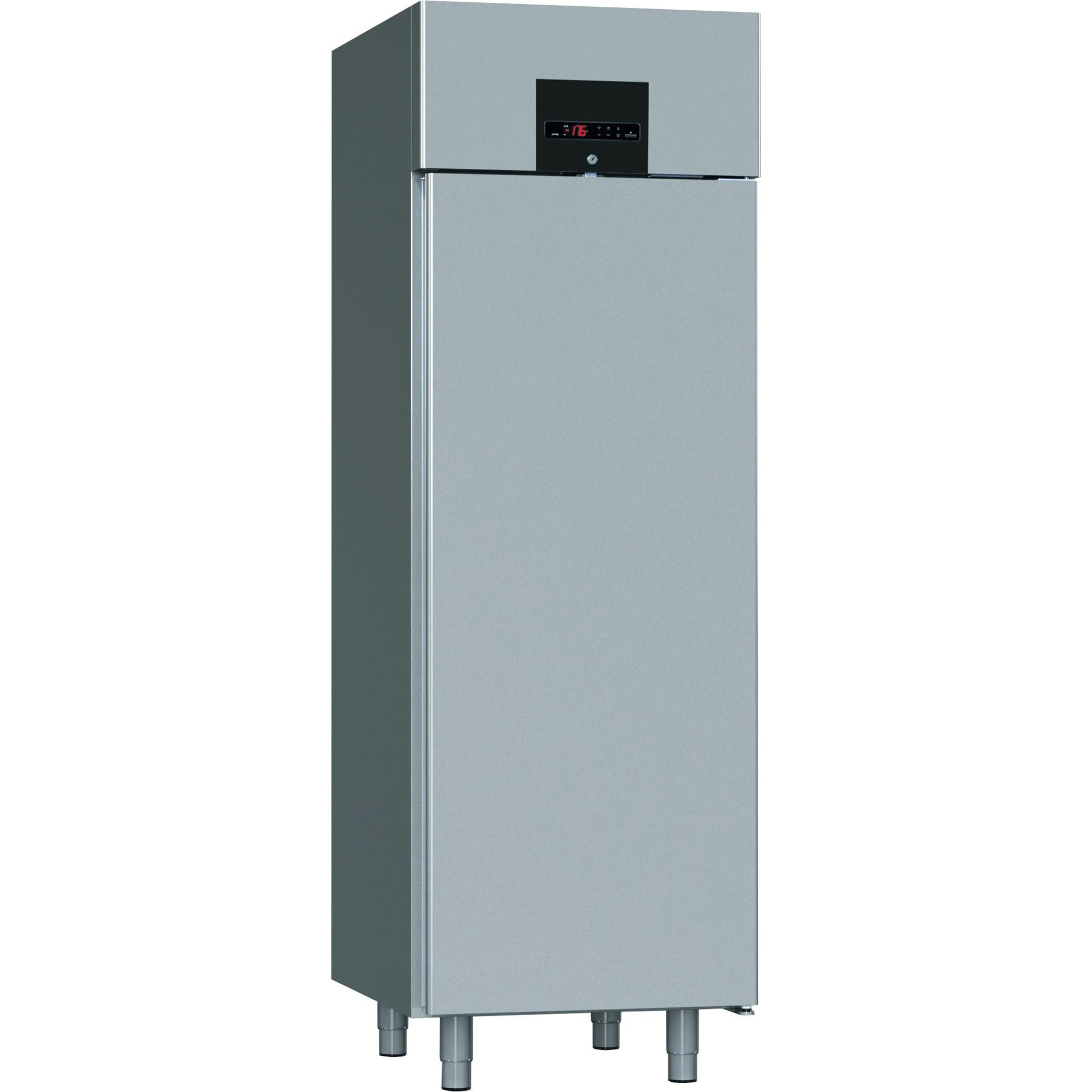 Hygiene-Tiefkühlschrank 700 l mit geprägten Sicken 695 x 870 x 2100 mm