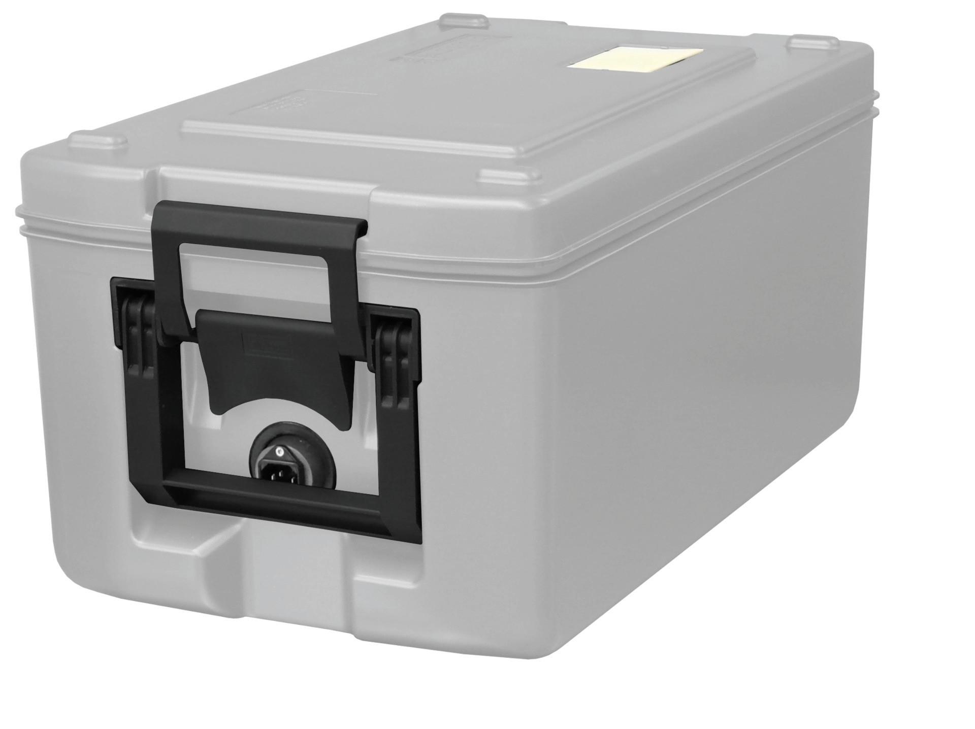 Transportbehälter 26 l beheizt lichtgrau 630 x 370 x 308 mm