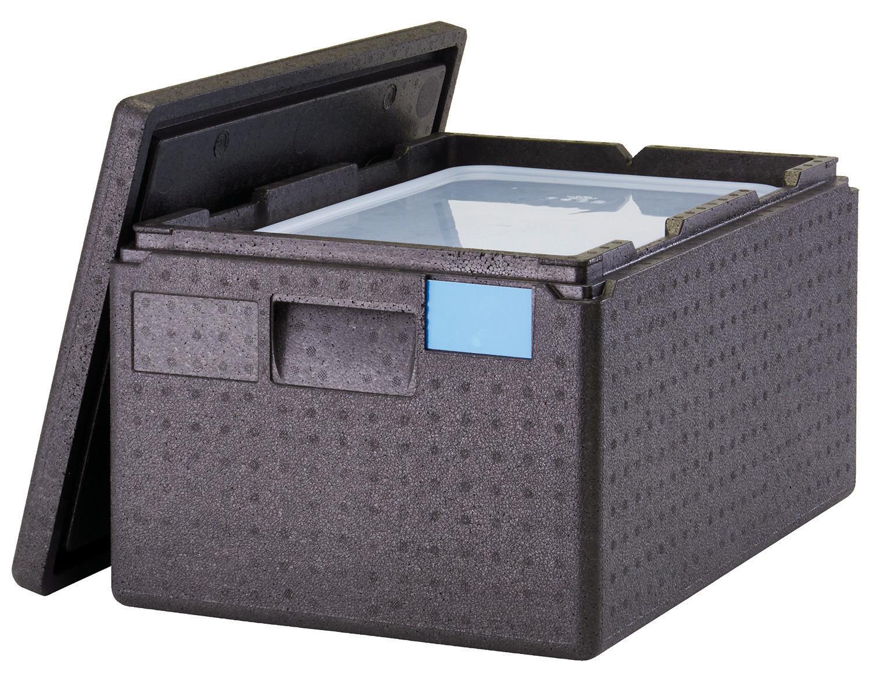 Wärmebox toplader für gn 1 1 200 mm schwarz rüffer berlin