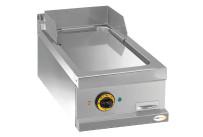 Elektro-Grillplatte glatt verchromt 1 Heizzone 400 x 700 x 250 mm