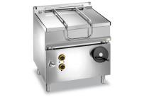 Elektro-Kippbratpfanne 60 l manuelle Kippung 800 x 700 x 850 mm