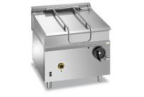 Gas-Kippbratpfanne 80 l manuelle Kippung 800 x 900 x 850 mm