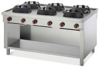Gas-Wokherd 6 Brenner / 108 kW