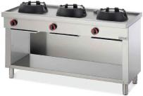 Gas-Wokherd 3 Brenner / 36 kW