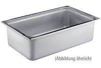 GN-Behälter, GN 2/3, 354 x 325 x 100 mm, Edelstahl