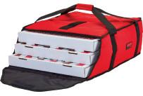 Pizza-Transporttasche, GoBag, rot, für 2 x 457 mm Pizza-Boxen VPE 4 Stk