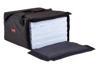 Pizza-Transporttasche Go Bag, schwarz, für 2 x 457 mm Pizzaschachteln