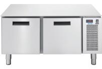 Unterbautiefkühltisch, 2 Schubladen, 86 l, 1200 x 673 x 572 mm