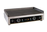 Elektro-Grillplatte glatt 2 Heizzonen 720 x 520 x 210 mm