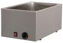 Elektro-Bain-Marie 1 x GN 1/1 H=150 mm 340 x 540 x 250 mm