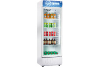 Flaschenkühlschrank Glastür 375 l
