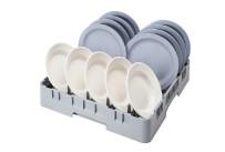 Korb für Teller und Tabletts mit Spezial-Dornen 500 x 500 x 100 mm