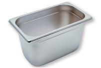 GN-Behälter, GN 1/4, 265 x 162 x 150 mm, Edelstahl