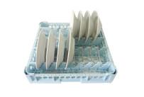 Tellerkorb für 15 Teller, max. ø 280 mm / 500 x 500 x 95 mm
