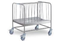 Tellertransportwagen 2-fach hohe Ausführung Tragkraft 270 kg