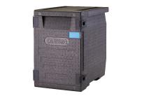 Wärmebox, Frontlader für GN 1/1, 86 l, schwarz