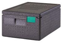 Wärmebox, Toplader, GN 1/1-150 mm, schwarz