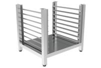 Untergestell hoch mit Einhängegestell, 8 x 600 x 400 mm für Heißluftöfen
