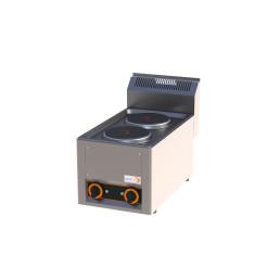 Elektro-Kochfläche 2 Platten 330 x 600 x 290 mm