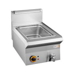 Elektro-Bain-Marie 1 x GN 1/1 H=160 mm Serie 650/ 400 x 650 x 270 mm