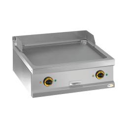 Elektro-Grillplatte glatt 2 Heizzonen 700 x 700 x 250 mm