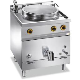 Gas-Kochkessel 50 l indirekte Hitze 700 x 700 x 850 mm