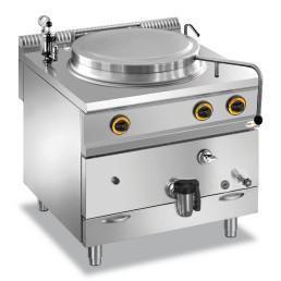 Gas-Kochkessel 100 l indirekte Hitze 800 x 900 x 850 mm