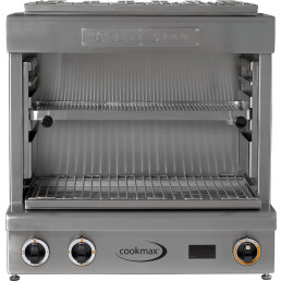 Hochtemperaturgrill Beef-Star Mini XL 2 Heizzonen 580 x 360 x 570 mm