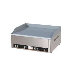 Elektro-Grillplatte glatt 2 Heizzonen 660 x 540 x 220 mm