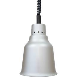Wärmestrahler Aluminium, Weißlicht, 250 W, ø 190 mm