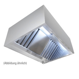 Wandhaube in Kastenform, 1600 x 1100 x 450 mm, Typ A