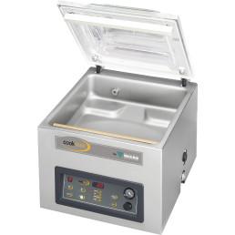 Vakuumierer 21 m³/h mit Dampfsensor / Kammer 370 x 420 x 180 mm